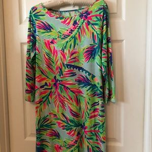 Lilly Pulitzer Long Sleeve Dress, Large